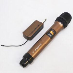 micro karaoke không dây shubole k5 dành cho loa kẹo kéo, loa bluetooth, amply hát karaoke
