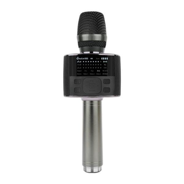 miracle m100 - micro karaoke bluetooth hàn quốc màu đen sang trọng