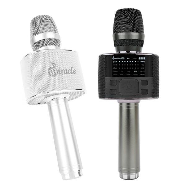 miracle m100 - micro karaoke bluetooth cao cấp hàn quốc, hát cực hay