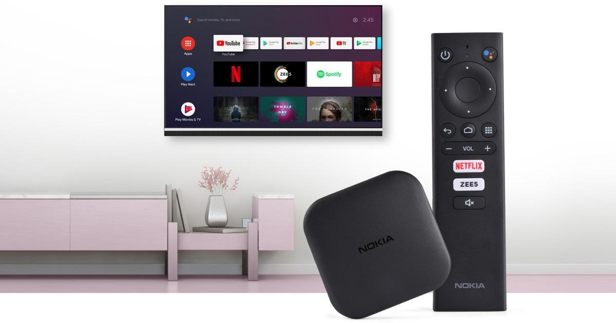 Nokia ra mắt Nokia Media Streamer - Android TV Box giá rẻ