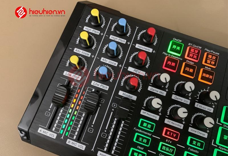 soundcard thu âm zangsong s8 có bluetooth, tích hợp autotune - hình 08
