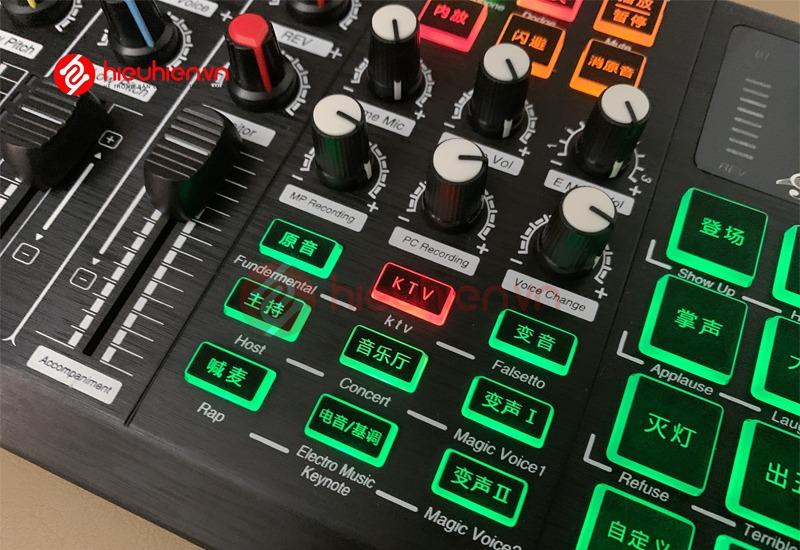 soundcard thu âm zangsong s8 có bluetooth, tích hợp autotune - hình 10