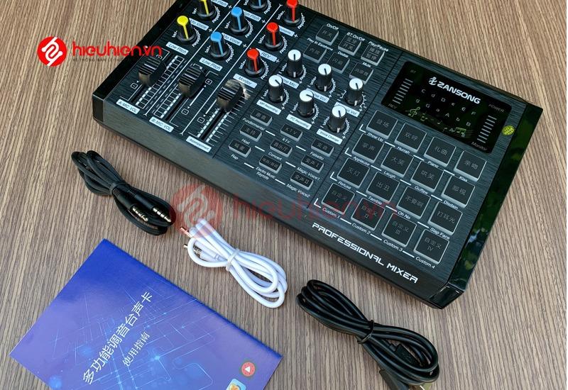 soundcard thu âm zangsong s8 có bluetooth, tích hợp autotune - hình 13