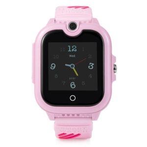 wonlex kt13 - đồng hồ định vị trẻ em nghe gọi video giá rẻ - màu hồng