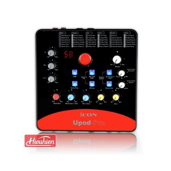 combo micro cao cấp takstar tak55 + Sound card icon upod pro - chuyên thu âm, hát Livestream, karaoke online - hình 05