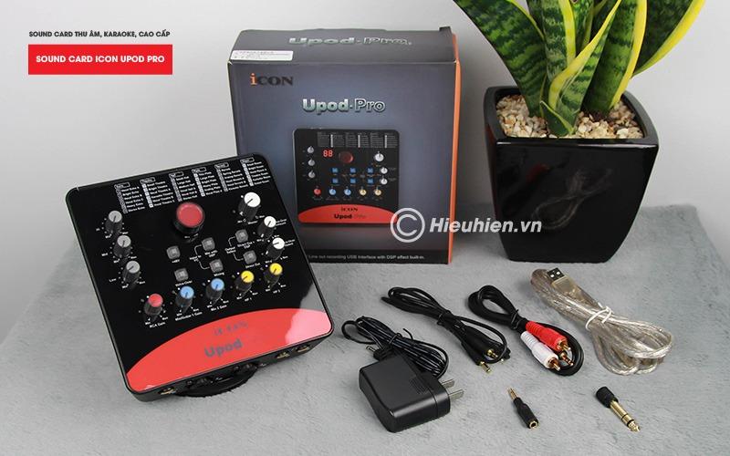 combo micro cao cấp takstar tak55 + Sound card icon upod pro - chuyên thu âm, hát Livestream, karaoke online - hình 09