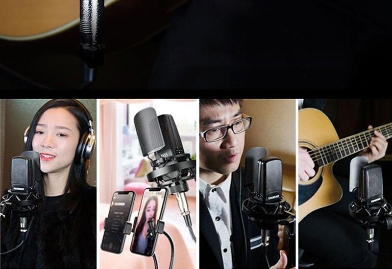 combo micro cao cấp takstar tak55 + Sound card icon upod pro - chuyên thu âm, hát Livestream, karaoke online - hình 12