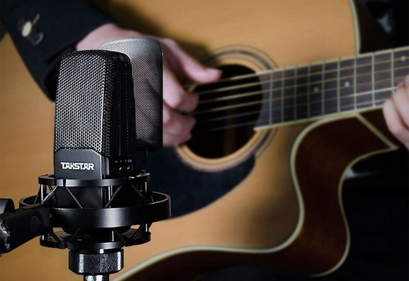 combo micro cao cấp takstar tak55 + Sound card icon upod pro - chuyên thu âm, hát Livestream, karaoke online - hình 13