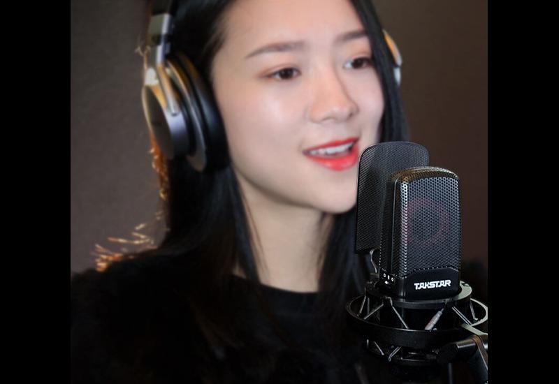 combo micro cao cấp takstar tak55 + Sound card icon upod pro - chuyên thu âm, hát Livestream, karaoke online - hình 14