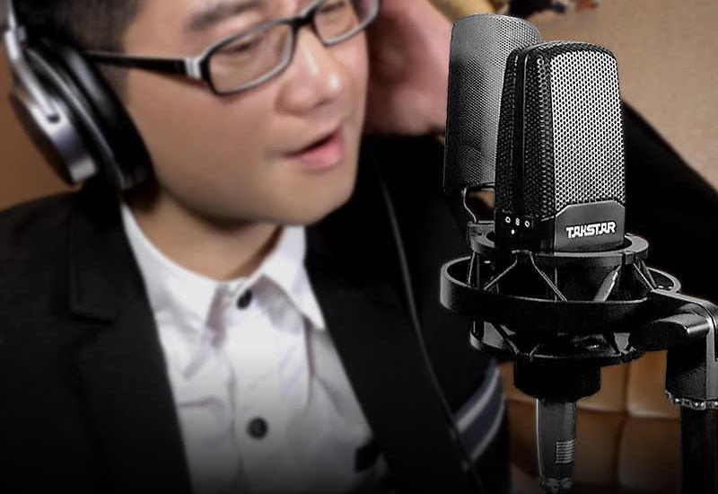 combo micro cao cấp takstar tak55 + Sound card icon upod pro - chuyên thu âm, hát Livestream, karaoke online - hình 15