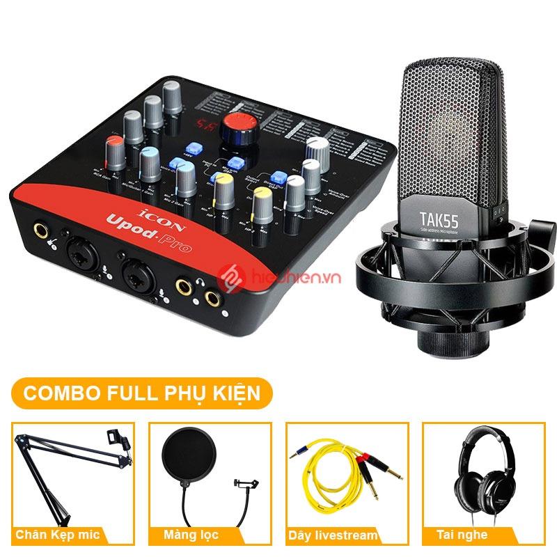 combo-micro-takstar-tak55-soundcard-icon-upod-pro-tai-nghe-takstar-hd-2000