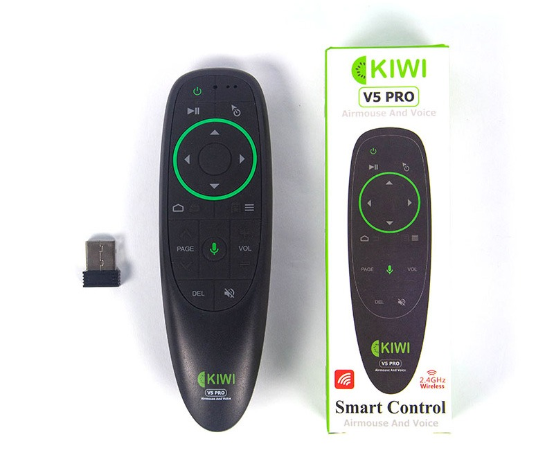 chuột bay kiwi v5 pro tìm kiếm bằng giọng nói cho android tv box
