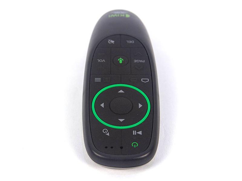 chuột bay kiwi v5 pro tìm kiếm bằng giọng nói cho android tv box - phía trên