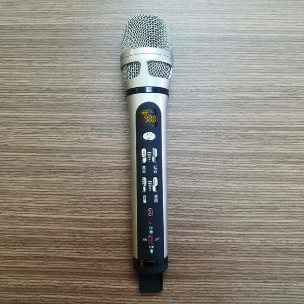micro hát karaoke trên ô tô xe hơi dachuan ash9, chính hãng giá rẻ hcm