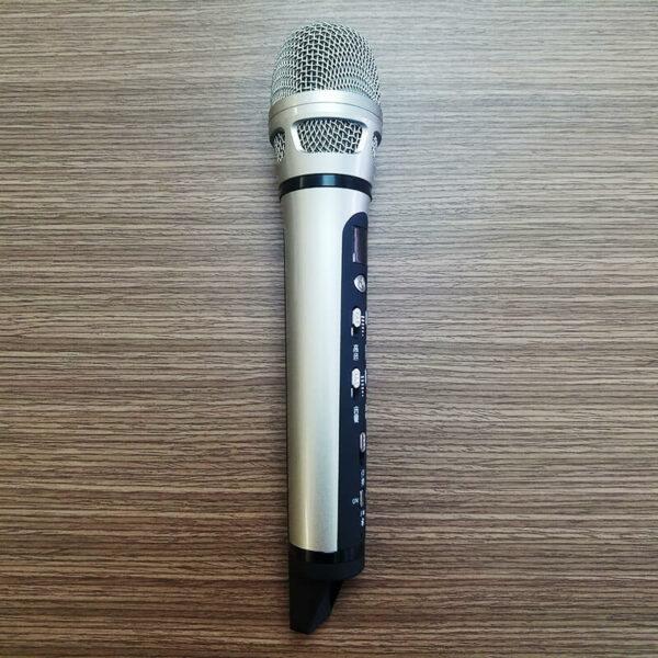 micro hát karaoke trên ô tô xe hơi dachuan ash9 - thiết kế nhỏ gọn