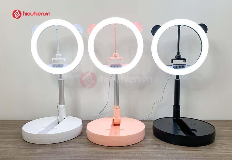 Đèn LED Livestream G2 - với 3 phiên bản màu: hồng, trắng, đen
