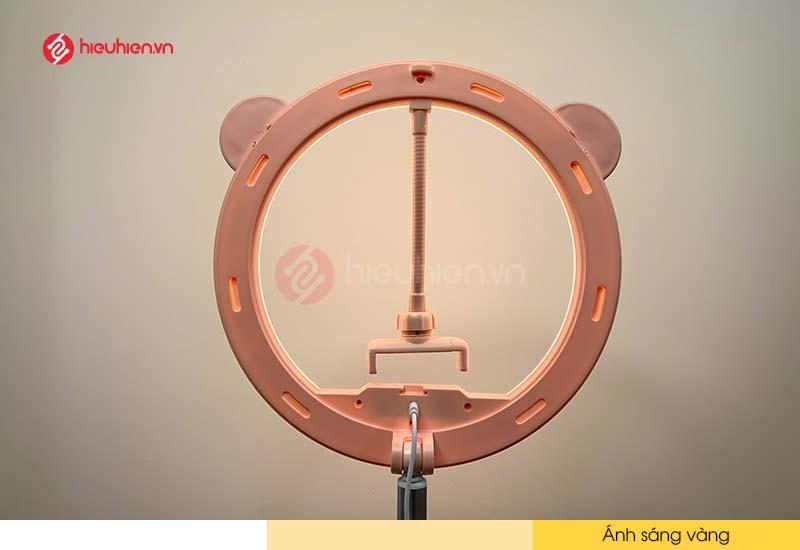 Đèn LED Livestream G2 - Chế độ ánh sáng vàng