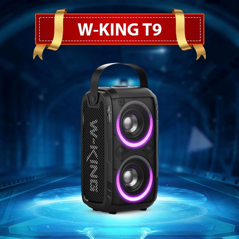 loa karaoke w-king t9 - loa bluetooth di động với hiệu ứng ánh sáng