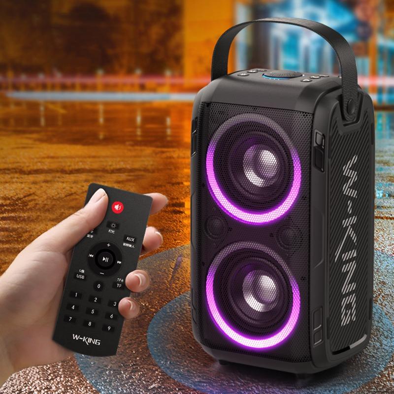 loa karaoke w-king t9 - có remote điều khiển từ xa