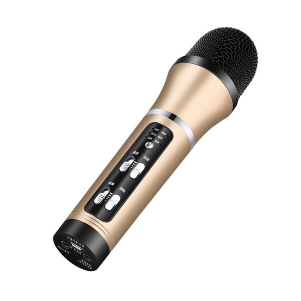 micro thu âm c25 tích hợp soundcard - hát karaoke, hát live stream giá rẻ
