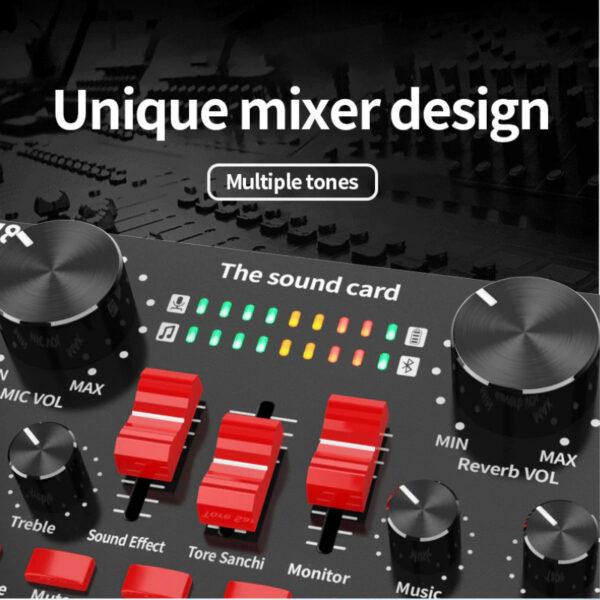 sound card thu âm v8s có bluetooth, hát live stream