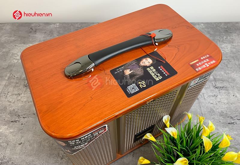 Loa Di Động TemeiSheng GD0639 - Thiết kế xách tay, tinh tế và tiện lợi khi di chuyển