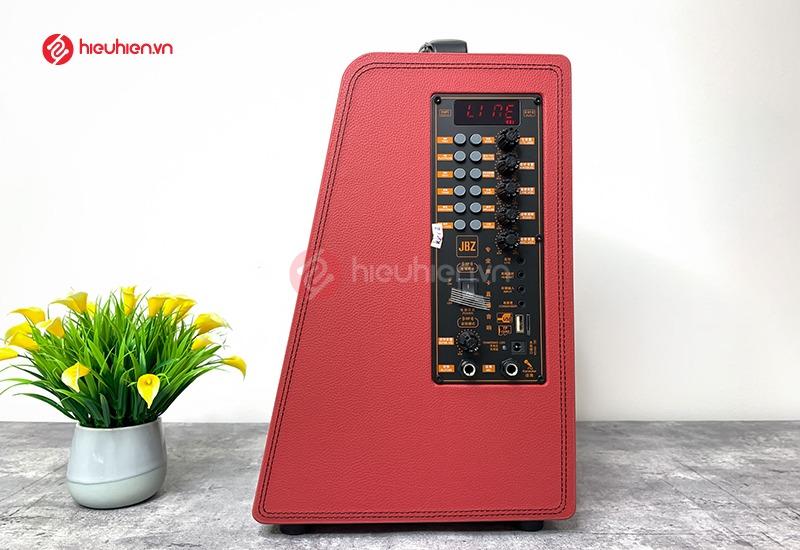 mạch điều chỉnh âm thanh loa jbz 0815 đầy đủ các phím điều chỉnh và cổng kết nối như USB, thẻ nhớ, cổng livetream
