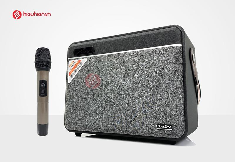 Loa karaoke xách tay cao cấp SALON S600 , Công xuất 40W