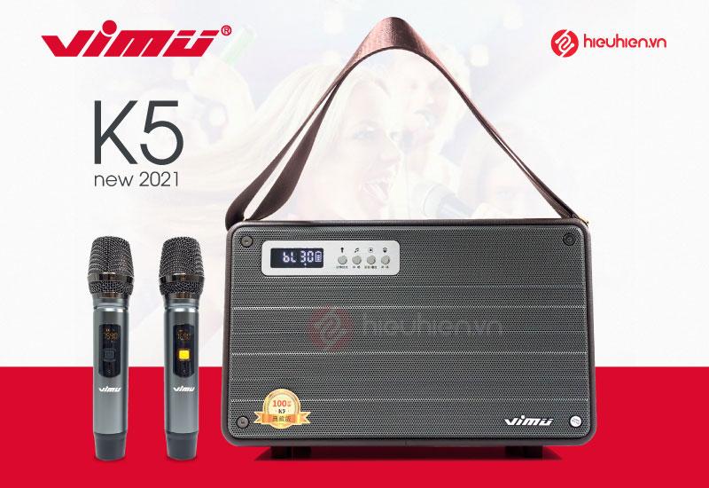 Loa Karaoke Xách Tay VIMU K5 - Công Suất 100W, Bản New 2021