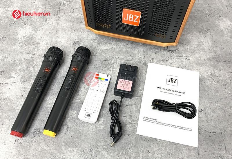 Trọn bộ sản phẩm Loa kéo JBZ J7