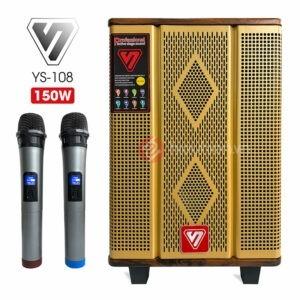 ShengYou YS108 - Loa Kéo Công Xuất Khủng 150W, Chính Hãng - Giá Rẻ