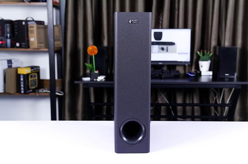 loa soundbar kiwi hk01 kèm sub và 2 micro - hát karaoke cực hay - hình 03 loa siêu trầm