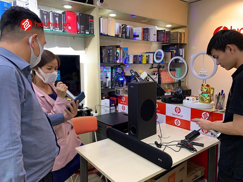 mua loa soundbar karaoke kiwi hk01 chính hãng tại hieuhien.vn - mic hát hay không hú