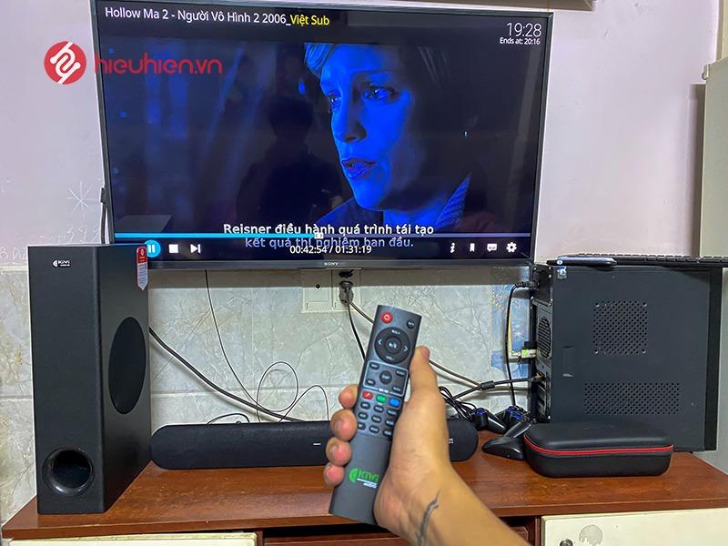 loa soundbar karaoke kiwi hk01 - lắp đặt trực tiếp tại nhà khách hàng tại tp hcm