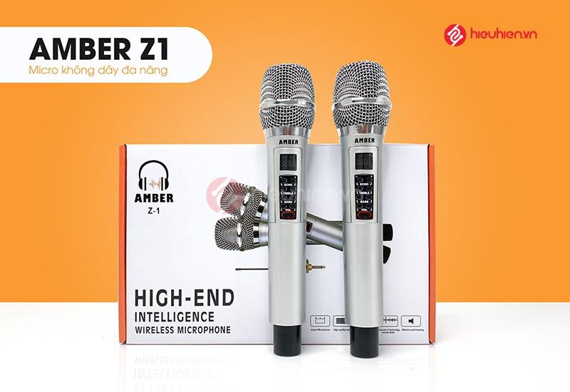 Amber Z1 Micro không dây chính hãng dùng cho loa di động