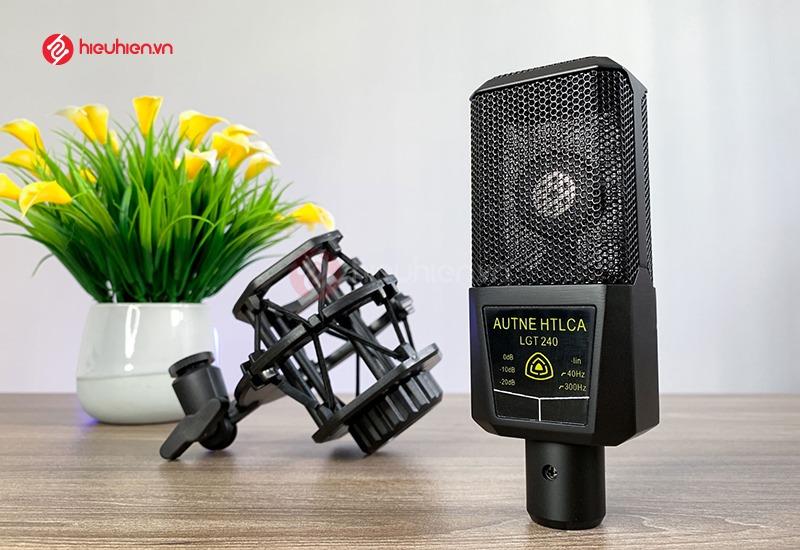 Mic Thu Âm Livestream LGT240 thiết kế sang trọng, đẵng cấp