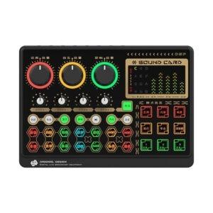 Sound Card Livestream X6mini – Card âm thanh tích hợp Bluetooth, Autotune