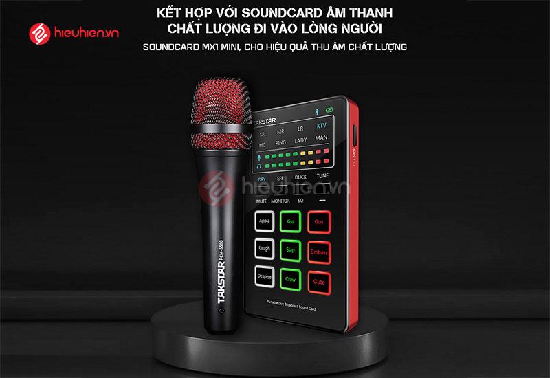 Takstar MX1 Mini SET - Combo Hát Karaoke Online, Live Stream