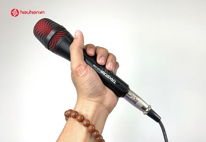 Takstar MX1 Mini SET Sử dụng micro điện dung có độ hút âm cao, cho âm thanh rõ ràng và tự nhiên