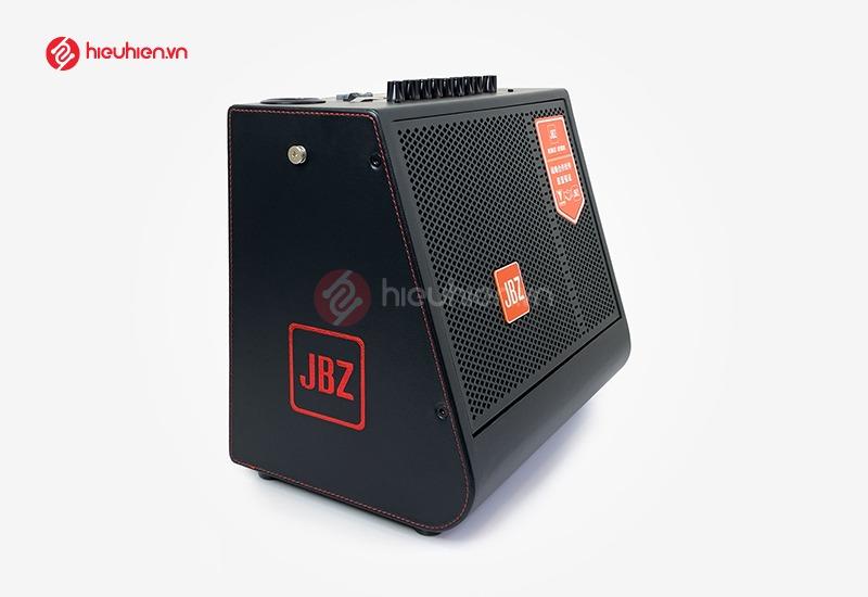 thùng loa JBZ 0816 được bọc da bên ngoài sang trọng