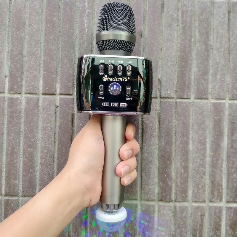 miracle m75 plus - micro karaoke kèm loa thương hiệu hàn quốc