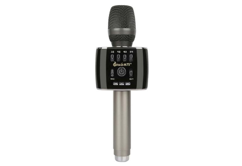 top 7 mẫu micro karaoke kèm loa bluetooth hay nhất hiện nay - miracle m75 plus