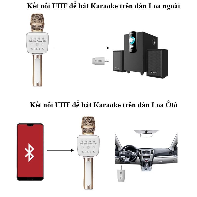 top 7 mẫu micro karaoke kèm loa bluetooth hay nhất hiện nay - tosing v2