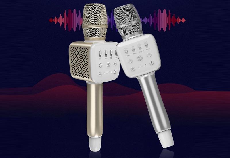 top 7 mẫu micro karaoke kèm loa bluetooth hay nhất hiện nay - tosing v2r