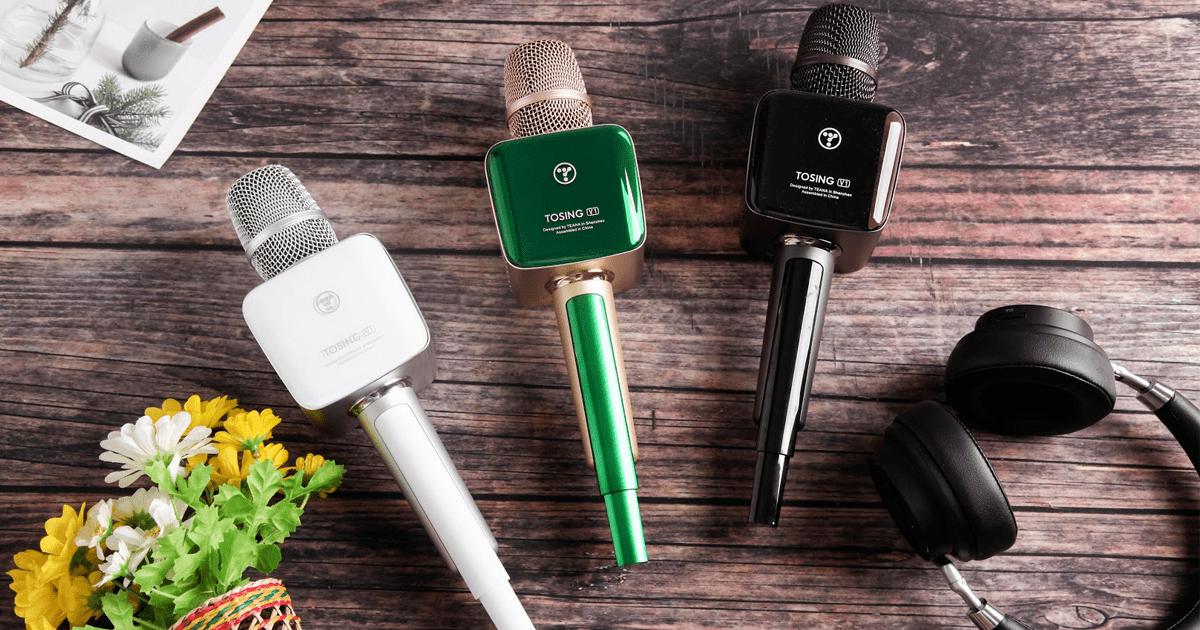 top 7 mẫu micro karaoke kèm loa bluetooth hay nhất hiện nay
