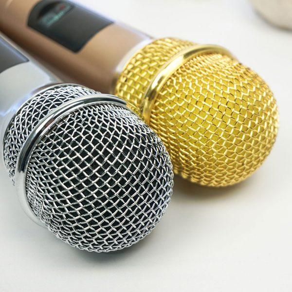 micro karaoke không dây excelvan k18u - dùng cho loa kéo, amply hát karaoke