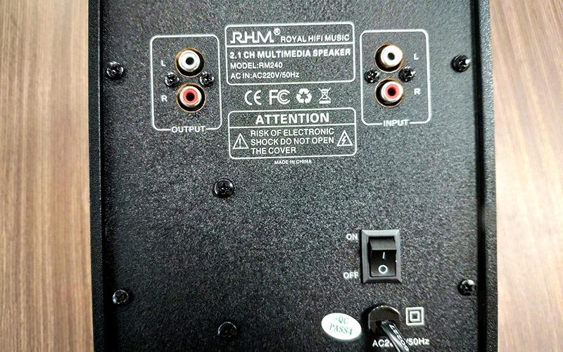 loa 2.1 rhm rm240 công suất 20w