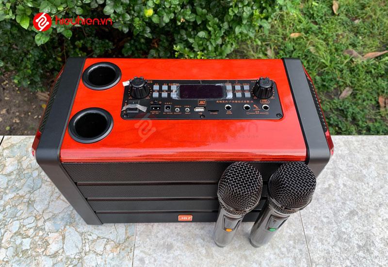 loa karaoke di động jbz 0606 tích hợp công nghệ âm thanh DSP