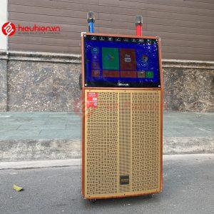 loa kéo koda kd15c - tích hợp màng hình cảm ứng, bass 4 tấc