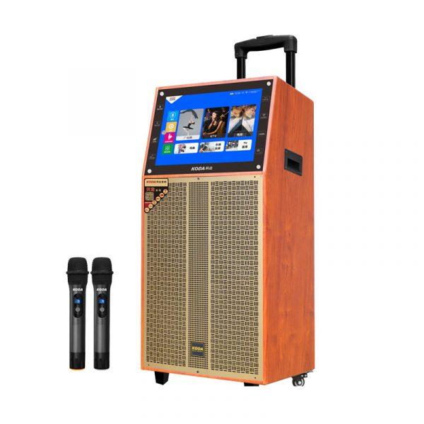 loa kéo có màn hình cảm ứng koda kd12c - loa karaoke bass 30